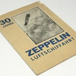 30 years Zeppelin Airship Ride 1930 Graf Zeppelin - Summary of Blimps w/44 photo