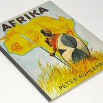 Africa German Cigarette Card Album w/72 tobacco cards african culture people +++