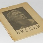 German Sculptor Arno Breker Book 1941 w/25 photos Germany WW2 Art Busts Soldiers