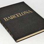 Barcelona 1920s Photo Book w/220+ gravures + Map - Rambla Marina Spain