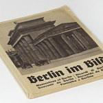 Berlin 1936 w/44 photos German Photo Book 1930s Reichssportfeld