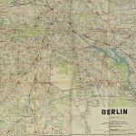"Berlin City Street Map 1936 - Size 24x31"" Olympia w/ Reichssportfeld"