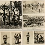 Belgian Congo Africa 1920's Photo Book w/195+ pics Baluba Pygmy Bantu Elephants