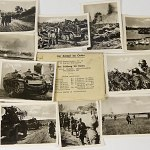 12 PK Ostfront Photographs 1940s Russia WW2 Eastern Front half track