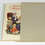 Fairy Tales German Cigarette Card Album 1930s w/100 color cards Grimm
