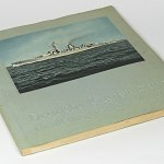 German Reichsmarine Navy Album 30s w/294 colored picture cards, charts