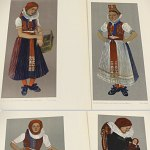 Sudetenland Traditional Dress Portfolio 1943 w/38 plate German Costume