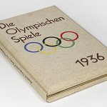 Stereo View Book German Olympic Games 1936 w/100 photo Raumbild Berlin