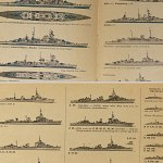 German WW2 Kriegsmarine vessel list of their fate /w 200+ sketches
