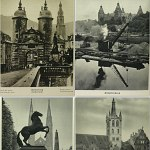 Germany 1930s Book w/256 photos Heidelberg Nurnberg Danzig Dresden +++