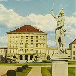 German 1st AgfaColor Photo Book 1944 of Nymphenburg Baroque Palace in Munich Germany Castle Bavaria Munchen München