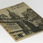 Frankfurt Original Old German Photo Book 1930s Main River Hesse Romer