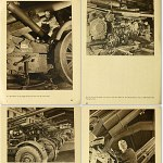 War Industrial WWII Photo Book of German Armaments Workers 1942 w/50 pictures