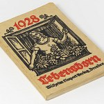 Lebensborn Calendar 1928 w/ illustrations Yearbook Fountain of Life