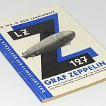 German Technical Airship Photo Book 1928 LZ127 w/66 pics Graf Zeppelin