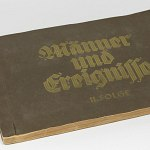 German Card Album 1934 w/160 photos Hitler Himmler Goring Goebbels