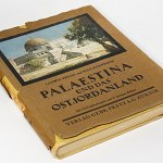 Palestine in 1920s Book w/212 b&w photos +21 color pictures Holy Land