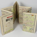 "Berlin City Street Map 1941 - 34x36"" Germany Capital Neukolln Wilmersd"