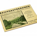 Reichsautobahn Photo Book 1935, Illustrated Construction Booklet German Highway Autobahn Germany Motorway