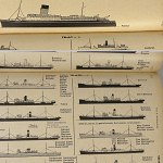 Merchant Fleets 1940 w/728 sketches Ship identification U-Boat Book