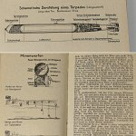 Kriegsmarine WW2 Pocketbook 1943 German Navy Wehrmacht Calendar Color