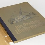 Wehrmacht Photo Album w/ 270 cigarette cards of Luftwaffe Kriegsmarine