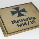 German WW1 Cigarette Album Comic Cartoon w/96 cards Book Pickelhaube