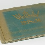 German WW1 Cigarette Card Album w/240 photo cards Tobacco Album War