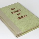 WW2 3D Stereo View BOOK w/100 Wehrmacht photos Kampf im Westen France