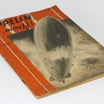 Zeppelin Onward! German Book w/120 photos Graf Hindenburg Blimp LZ127